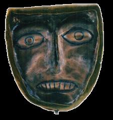 Máscara n. 11  (bronze)