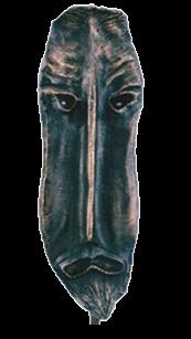 Máscara n. 13  (bronze)
