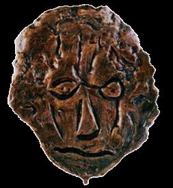 Máscara n .3  (bronze)