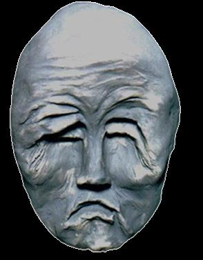 Máscara n. 8  (resina)