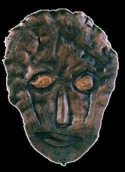 Máscara n. 9  (bronze)