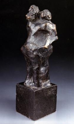 O Abraço  (bronze)