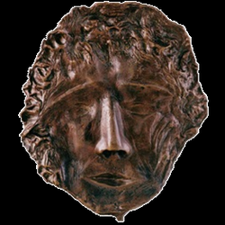 Máscara n. 2  (bronze)