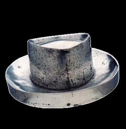 Chapéu n. 2  (alumínio)