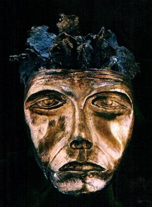 Máscara n. 17  (bronze)