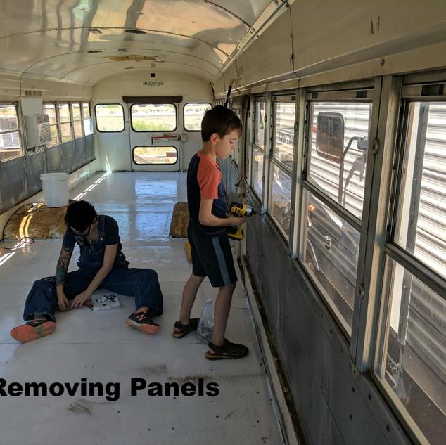Removing Panels