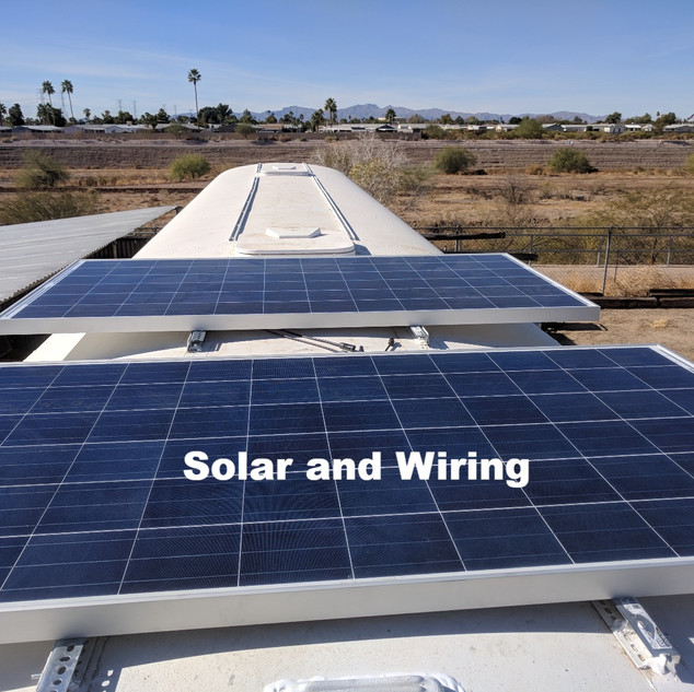 Solar and Wiring