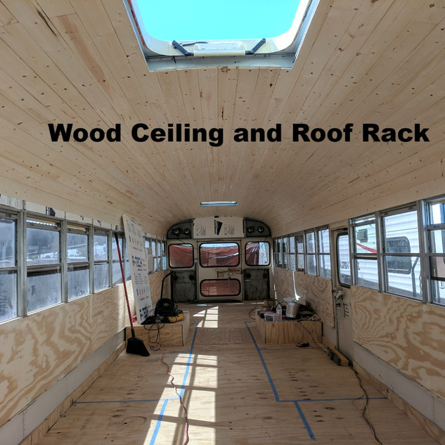 Wood Ceiling and Roof Rack