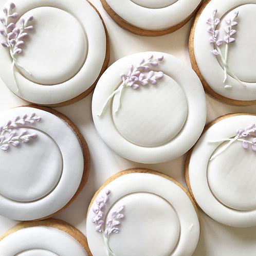 Iced Vanilla Biscuits