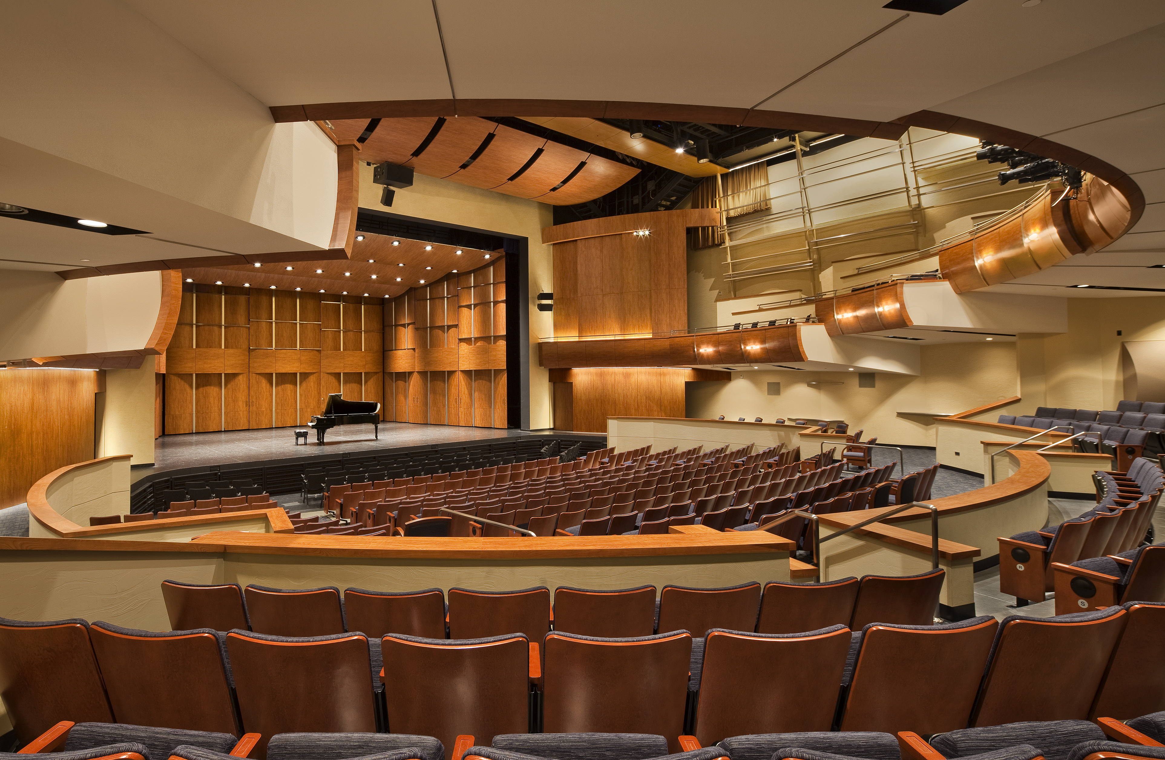 Harris Center, Three Stages at Folso