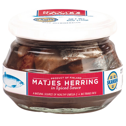Fish - Matjes Herring Tidbits in Spiced Sauce