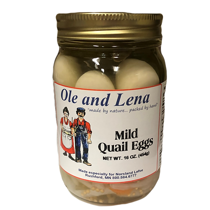 Pickles - Mild Quail Eggs