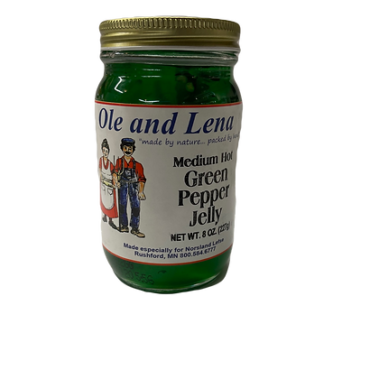 Medium Hot Green Pepper Jelly