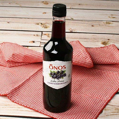 Ono's Black Currant Saft Bottle