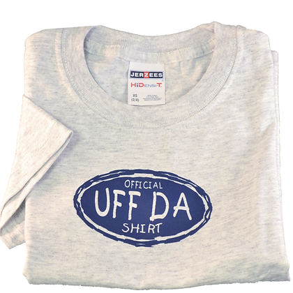 "copy of T-Shirt - ""Official UFF DA Shirt"" (Youth)"