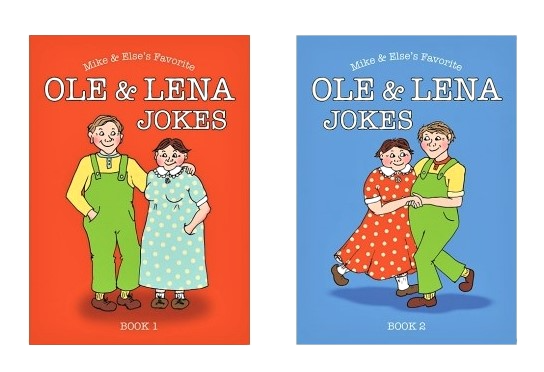 Ole & Lena Joke Book 2 pack