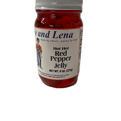 Hot Hot Red Pepper Jelly