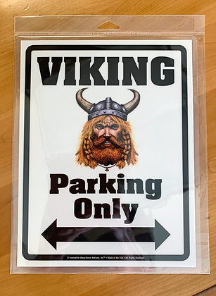 """Sign - """"Viking Parking Only"""""""