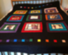 Custom Made Photograph Quilt
