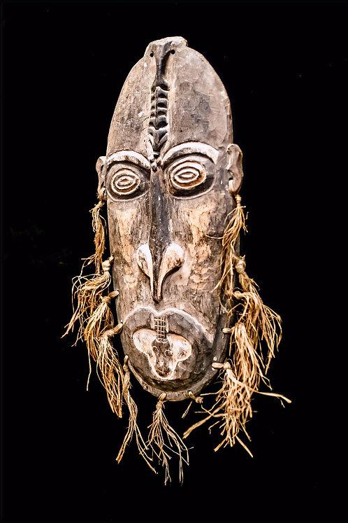KERAM RIVER HOUSE MASK - PAPUA NEW GUINEA