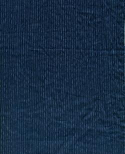 「時雨~しぐれ~」濃藍 苧麻化衣