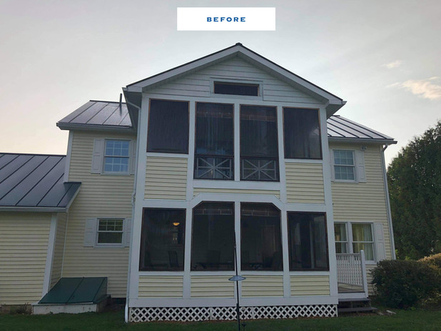 House Wash in Addison, VT