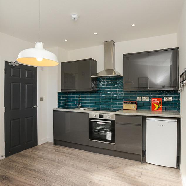 flat 1 kitchen area