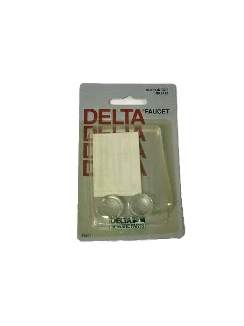 Delta Faucet Acrylic Button RP2412
