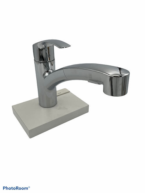 Grohe Eurosmart Pull-Out Spray Kitchen Faucet with SilkMove