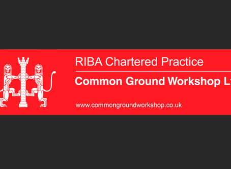 Common Ground Workshop are Now a RIBA Chartered Practice