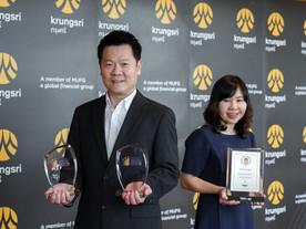 กรุงศรี คว้า 3 รางวัล จากเวทีระดับเอเชีย การันตีความเป็นผู้นำในด้านเทคโนโลยี