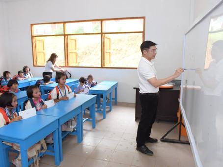 ธอส.มอบอาคารเรียน และมอบทุนการศึกษาโรงเรียนบ้านแม่โขง ต.นาเกรียน อ.อมก๋อย จ.เชียงใหม่