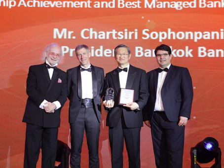ธนาคารกรุงเทพ คว้า 2 สุดยอดรางวัล The Asian Banker Leadership Achievement Awards 2019