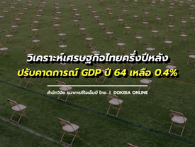 สำนักวิจัย ธนาคารซีไอเอ็มบีไทย วิเคราะห์เศรษฐกิจไทยครึ่งปีหลัง ปรับคาดการณ์ GDP ปี 2564 เหลือ 0.4%