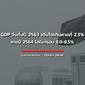 GDP จีนทั้งปี 63 เติบโตเกินคาดที่ 2.3 %...คาดปี 64 โตในกรอบ 8.0-8.5 % มุ่งเน้นการเติบโต แบบมีคุณภาพ
