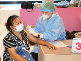 ออมสิน สนับสนุนจุดให้บริการฉีดวัคซีนโควิด-19 แก่บุคลากรด่านหน้ากลุ่มบริการเพื่อสุขภาพ & ผู้สูงอายุ