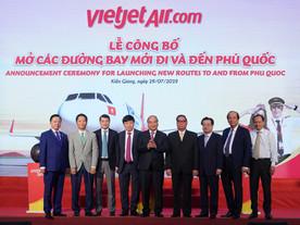 เวียตเจ็ทฉลองเปิด 4 เส้นทางบินใหม่สู่เกาะฟู้โกว๊ก....จัดโปรฯ ตั๋วราคา 0 บาทกว่า 85,000 ใบ เปิดจองวัน