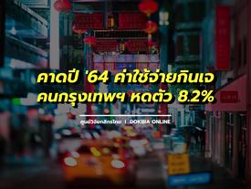 คาดปี '64 ค่าใช้จ่ายกินเจของคนกรุงเทพฯ หดตัว 8.2% จากสถานการณ์ที่ไม่เอื้อและความระมัดระวังการใช้จ่าย