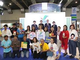 เปิดกระหึ่มบูธ SME D Bank ในงาน Thailand Smart Money 2019 กรุงเทพ