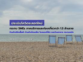 TMB Analytics ประเมินโควิดระลอกใหม่ กระทบธุรกิจ SMEs ในภาคการค้าบริการและท่องเที่ยวกว่า 1.3 ล้านราย