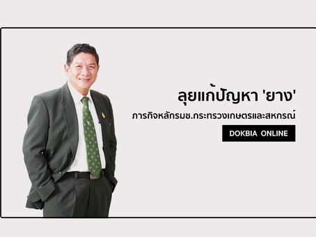 """ลุยแก้ปัญหา 'ยาง""""...ภารกิจหลักรมช.กระทรวงเกษตรและสหกรณ์"""