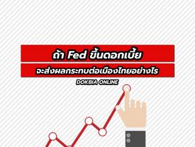 ถ้า Fed ขึ้นดอกเบี้ย จะส่งผลกระทบต่อเมืองไทยอย่างไร?