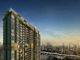 """""""เดอะ ไลน์ พหลโยธิน พาร์ค"""" ครั้งแรก กับ """"Green Condominium"""" เต็มรูปแบบ ภายใต้สวนใหญ่กว่า 8 ไร่"""