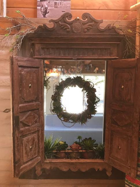 Succulent Garden Inside Windowbox