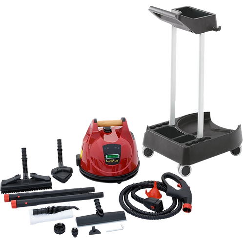Ladybug Tekno 2350 Vapor Steam Cleaner - With Trolley