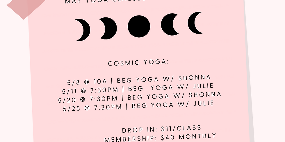 Cosmic Yoga | WK 4