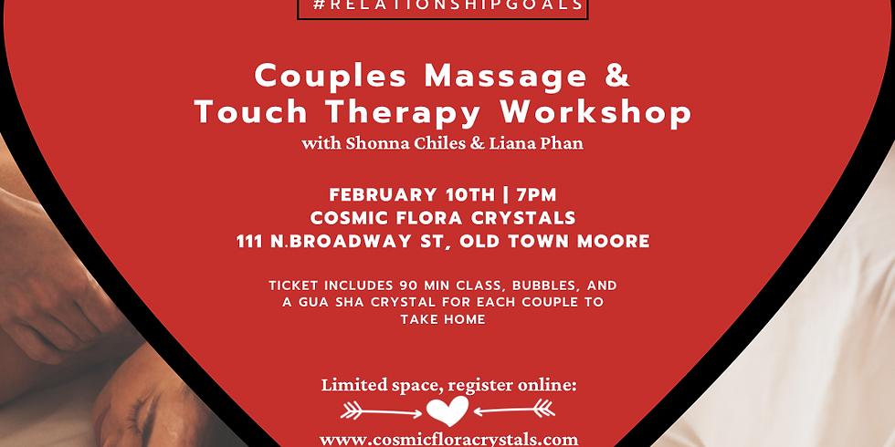 Couples Massage & Touch Workshop