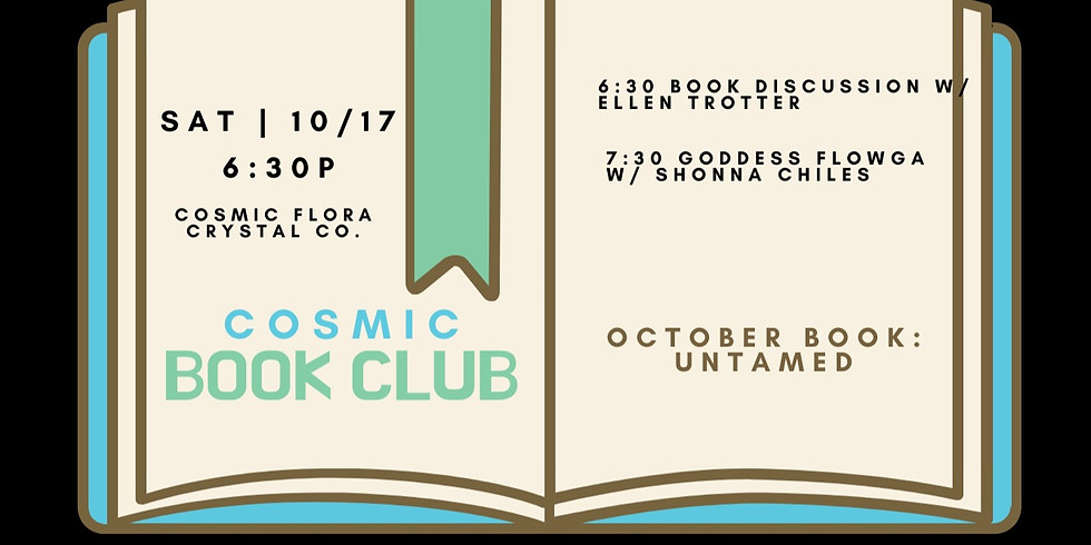 Cosmic Book Club: Group Discussion & Sensual Movement | UNTAMED