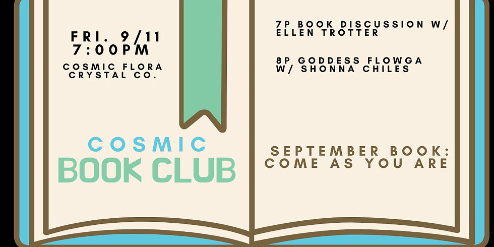 Cosmic Book Club: Group Discussion & Sensual Movement