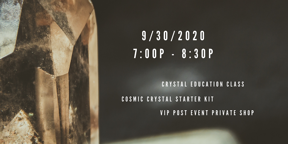 Crystals & Chill: Crystal Education Class